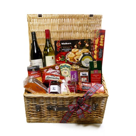 corporate gift hampers with personality scottish food. Black Bedroom Furniture Sets. Home Design Ideas