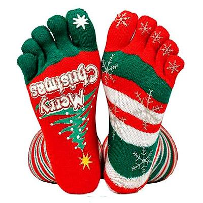 Bad taste - Christmas socks. Good taste: Scottish Food Hamper. Ho Ho Ho