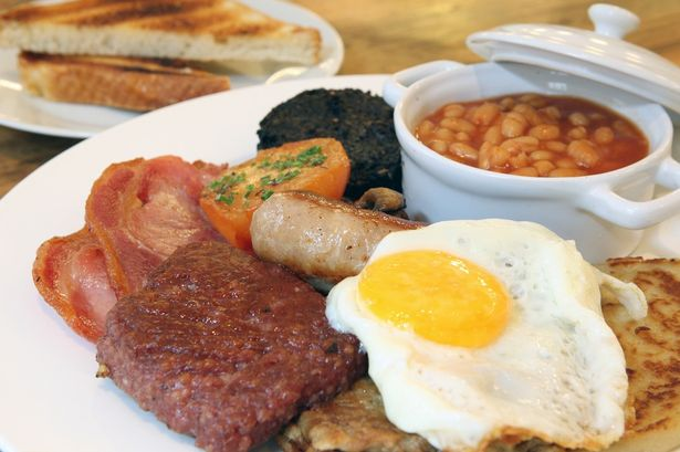 Scottish Breakfast Sausage Full Scottish Breakfast by