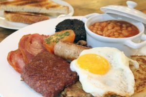 Full Scottish Breakfast by Scottish Food Overseas