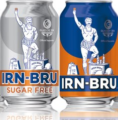 Irn Bru on sale at Scottish Food Overseas