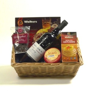Cheese and Port Gift Box