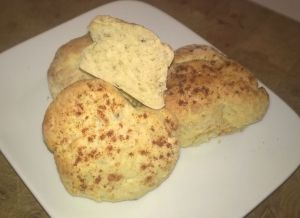 Haggis and Cheese Scones recipe