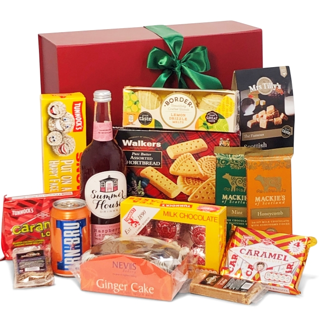 The Sweet Toothed Gift Selection by Scottish Food and Hampers