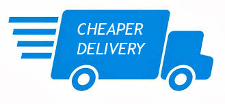 Cheaper delivery costs in the UK and Europe
