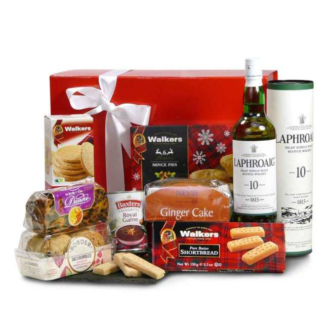 The Islay Malt Whisky Selection gift hamper by Scottish Food and Hampers